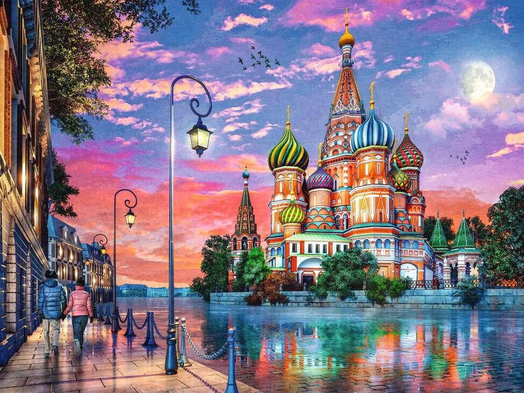 Puzzle Ravensburger Moscú de 1500 Piezas
