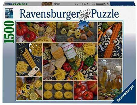Puzzle Ravensburger Mucha Pasta de 1500 Piezas
