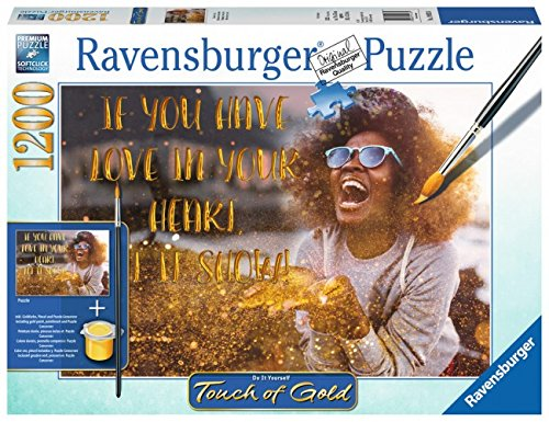 Puzzle Ravensburger Muéstrame Tu Amor (Detalles Dorados) 1200 Pz