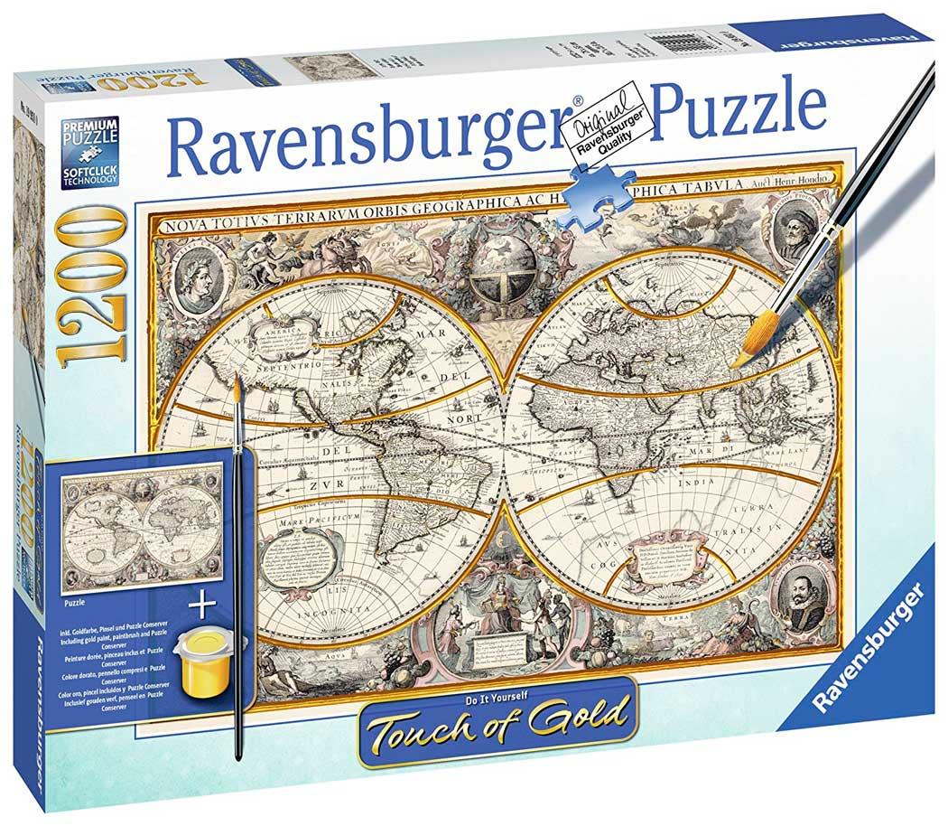 Puzzle Ravensburger Mundo Antiguo (Detalles Dorados) 1200 Pzas