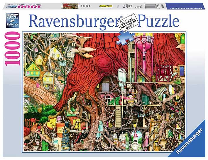 Puzzle Ravensburger Mundo Oculto de 1000 Piezas