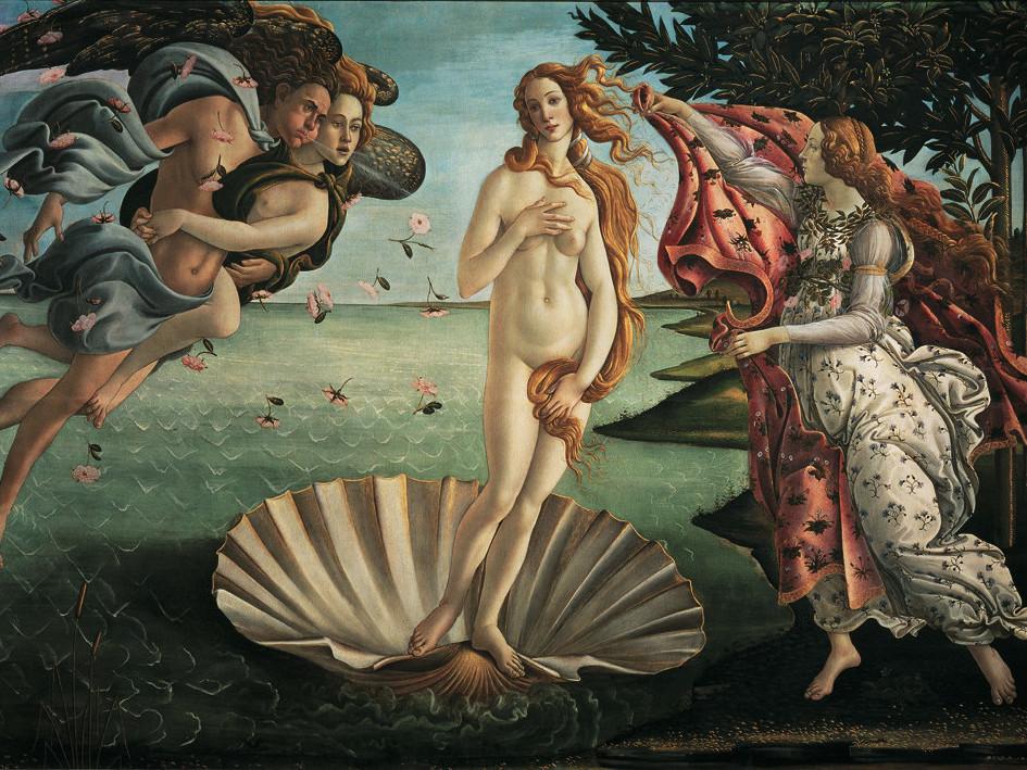 Puzzle Ravensburger Nacimiento de Venus de 1000 Piezas