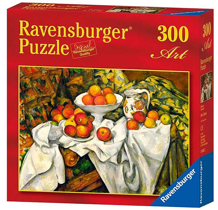 Puzzle Ravensburger Naturaleza muerta, Manzanas y Naranjas 300 P
