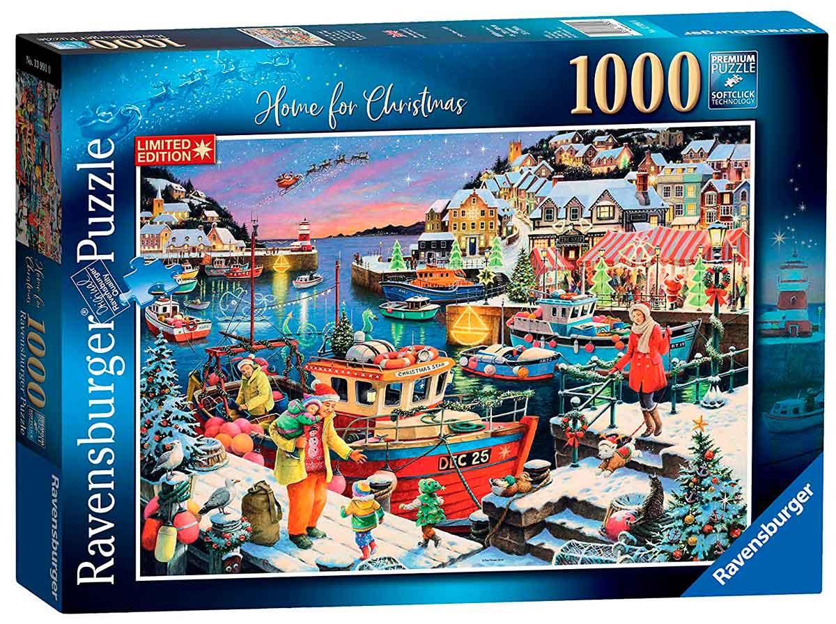 Puzzle Ravensburger Navidad en Familia de 1000 Piezas