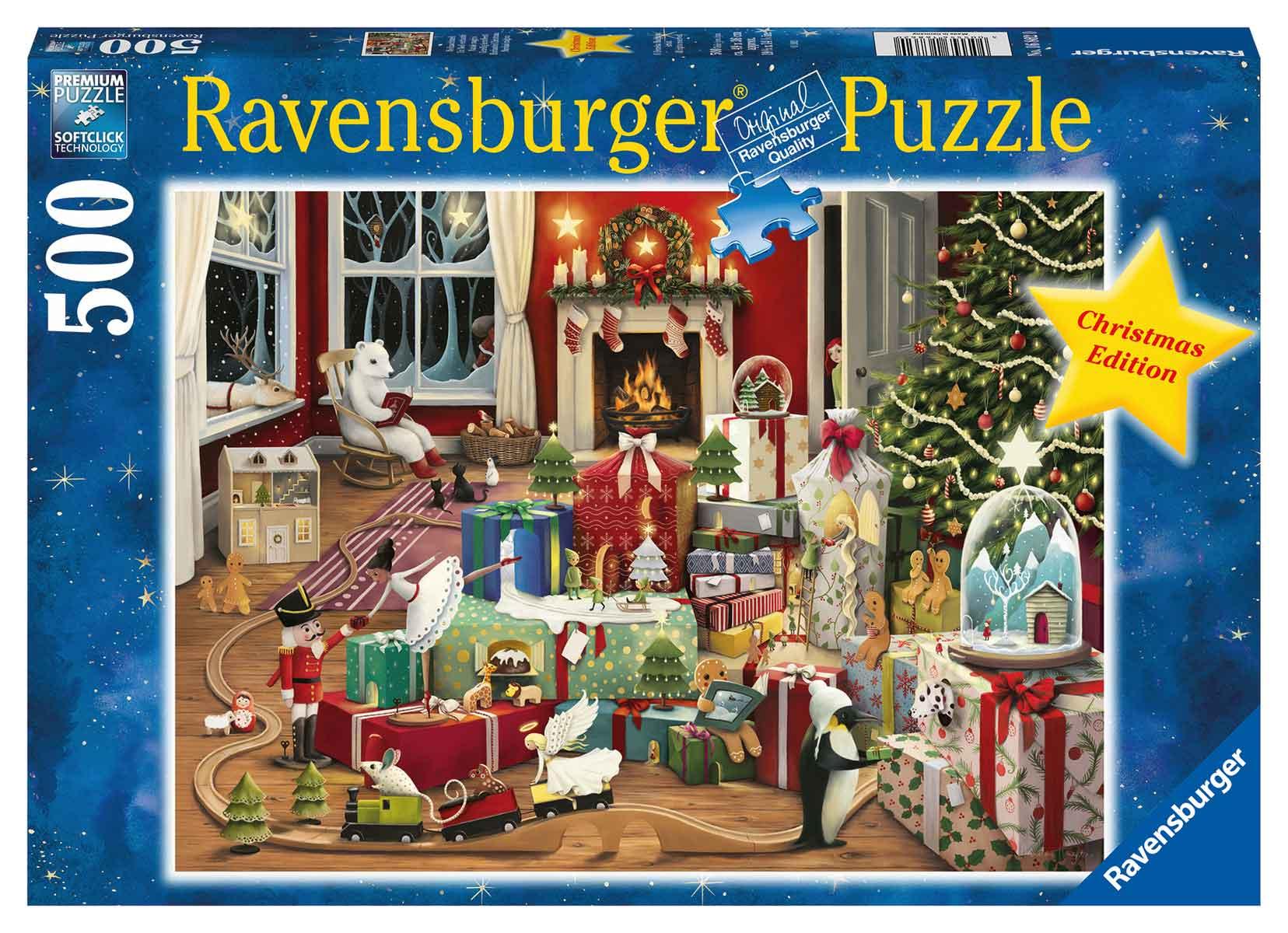 Puzzle Ravensburger Navidad Encantada de 500 Piezas