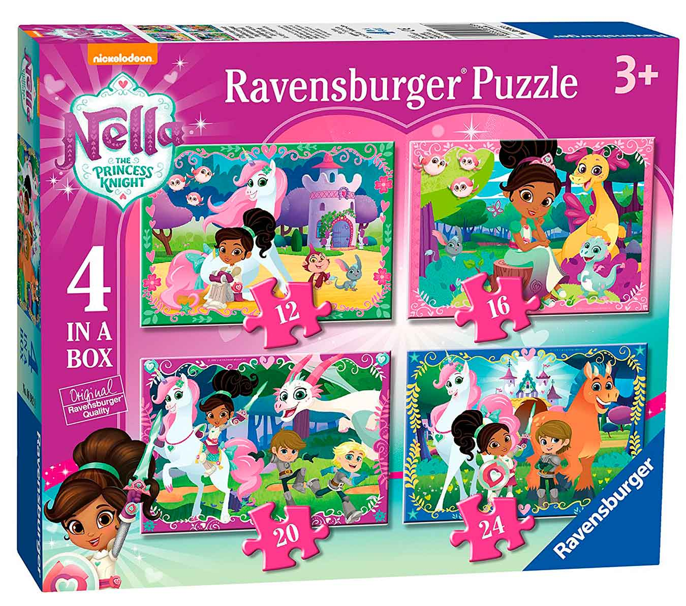 Puzzle Ravensburger Nella La Princesa Valiente Progresivo de 12+