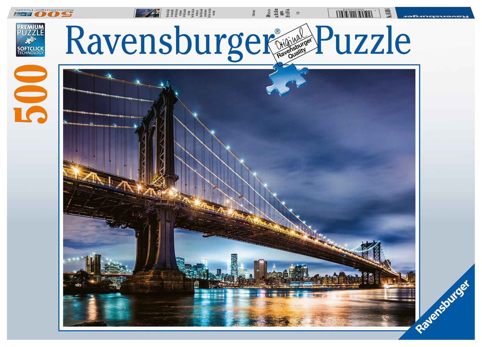 Puzzle Ravensburger New York La Ciudad Que Nunca Duerme de 500 P