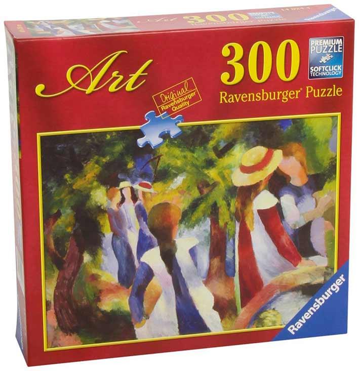 Puzzle Ravensburger Niñas entre los Árboles 300 Piezas