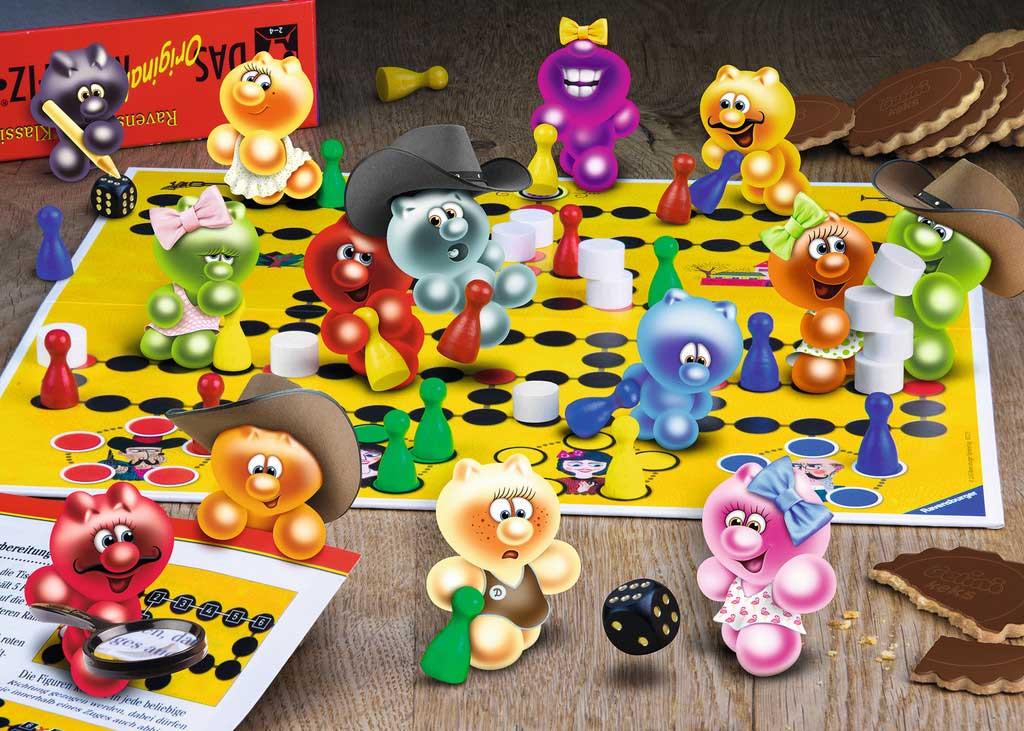 Puzzle Ravensburger Noche de Juegos Gelini de 1000 Piezas