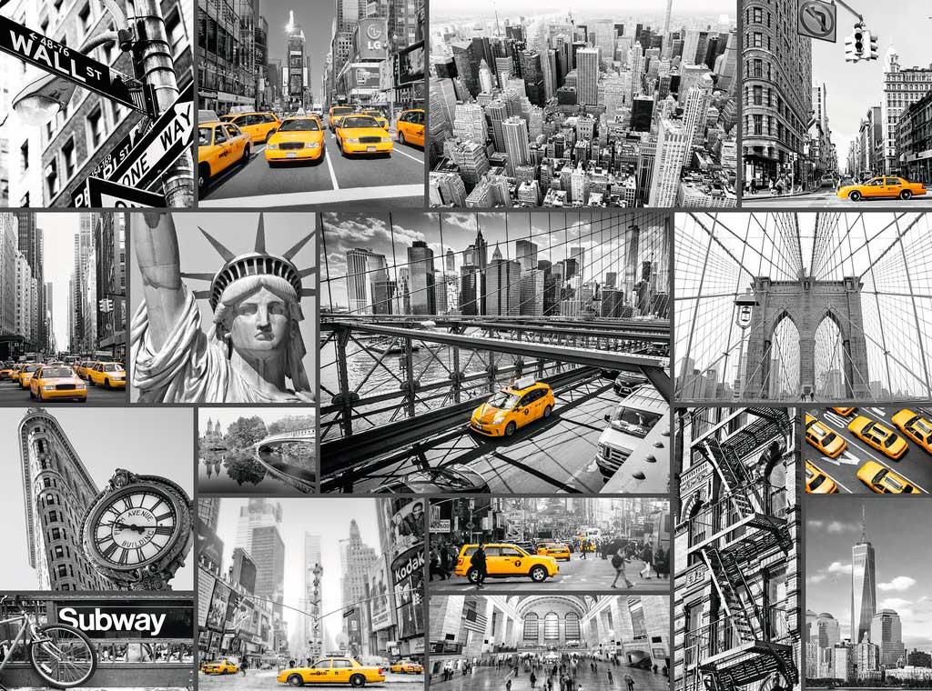 Puzzle Ravensburger Nota de Color en Nueva York de 1500 Piezas