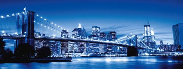Puzzle Ravensburger Nueva York Iluminada de 1000 Piezas