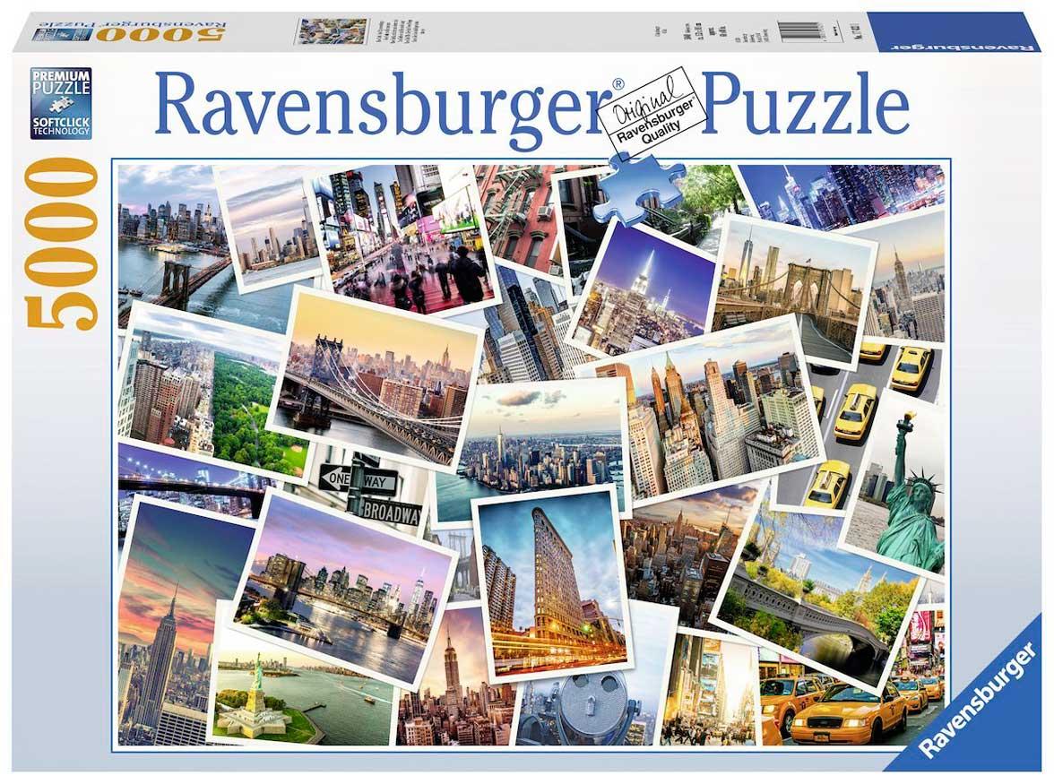 Puzzle Ravensburger Nueva York Nunca Duerme de 5000 Piezas