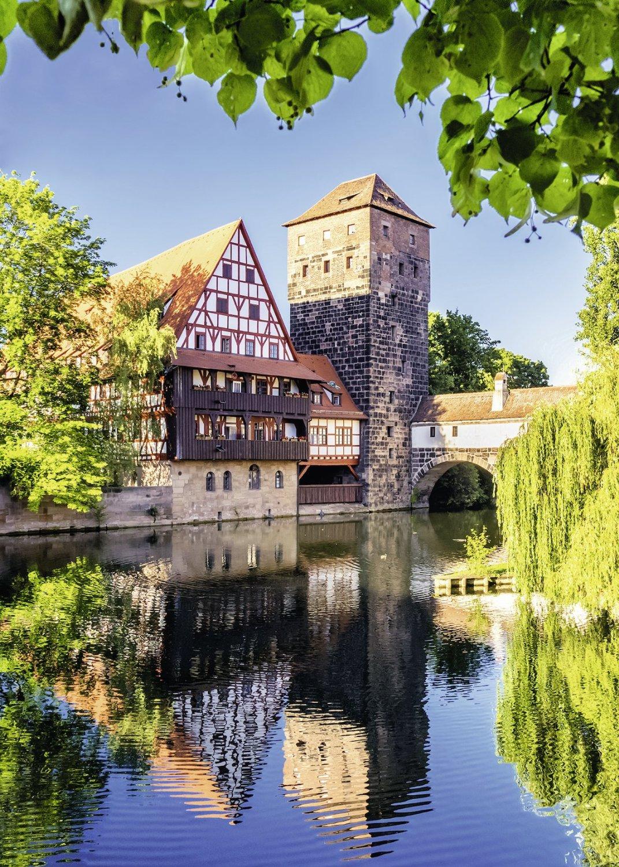 Puzzle Ravensburger Núremberg 1000 Piezas