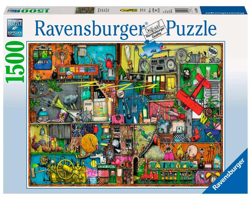 Puzzle Ravensburger Objetos Ruidosos de 1500 Piezas