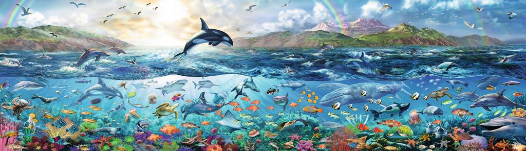 Puzzle Ravensburger Océano lleno de Vida de 2000 Piezas
