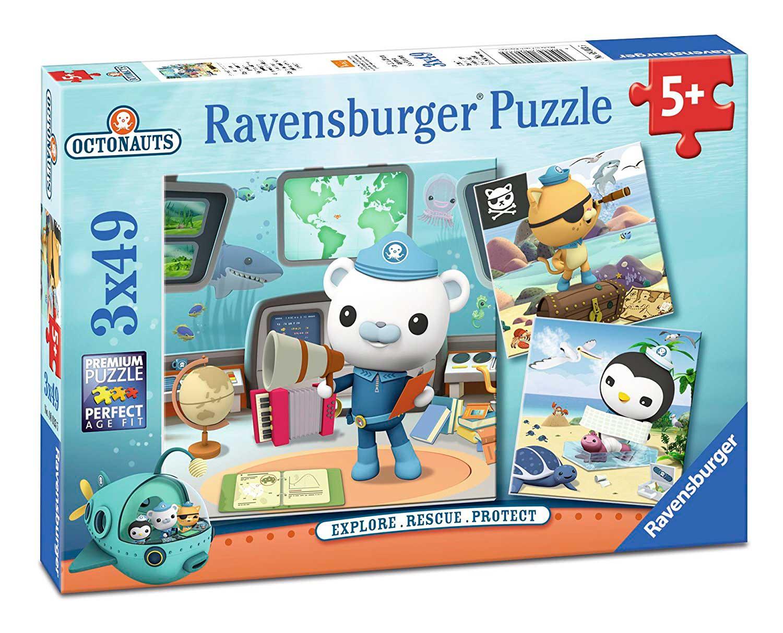 Puzzle Ravensburger Octonauts 3x49 Piezas