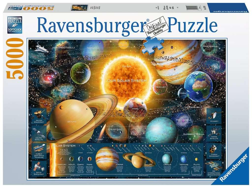 Puzzle Ravensburger Odisea del Espacio de 5000 Piezas