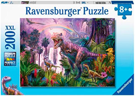 Puzzle Ravensburger País de los Dinosaurios XXL de 200 Piezas