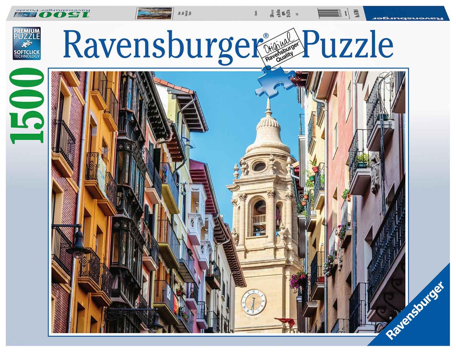 Puzzle Ravensburger Pamplona de 1500 Piezas
