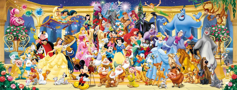Puzzle Ravensburger Panorama Disney de 1000 Piezas