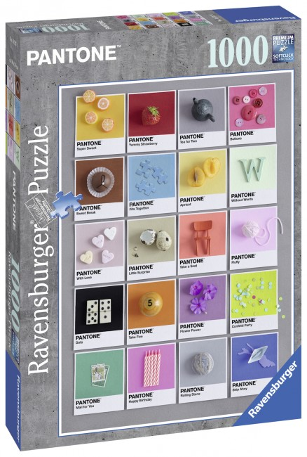 Puzzle Ravensburger Pantone de 1000 Piezas