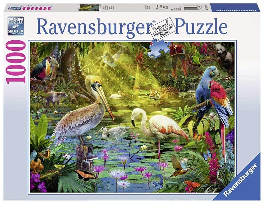 Puzzle Ravensburger Paraíso de las Aves de 1000 Piezas