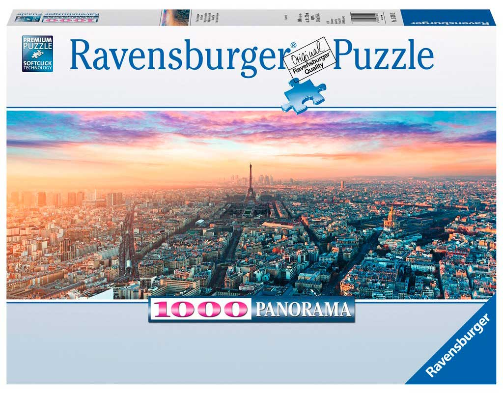 Puzzle Ravensburger París y la Luz del Amanecer de 1000 Pzs