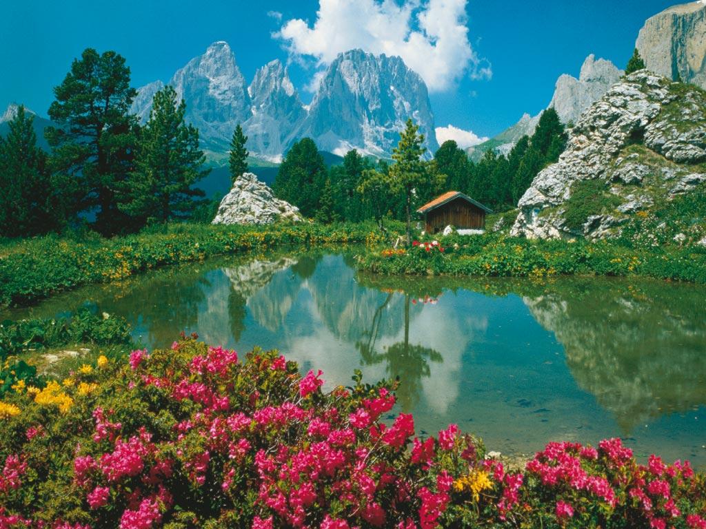 Puzzle Ravensburger Paso del Sella, Dolomitas de 3000 Piezas