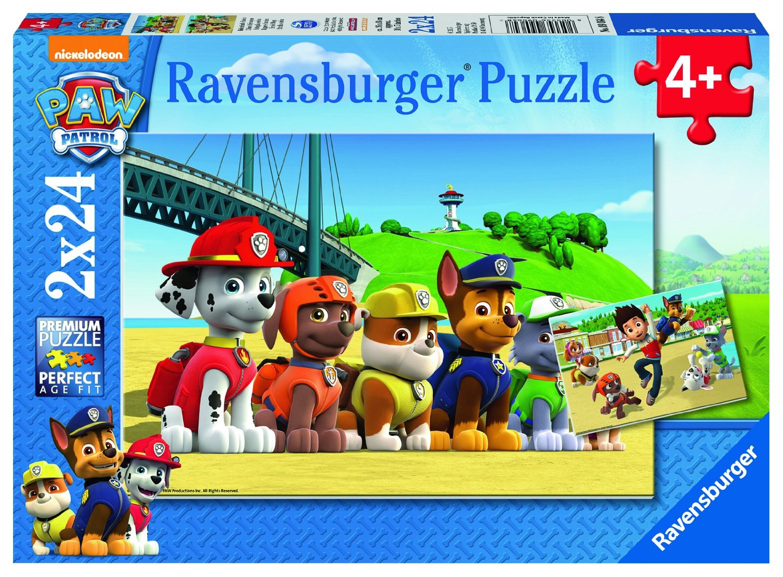 Puzzle Ravensburger Patrulla Canina  2x24 Piezas