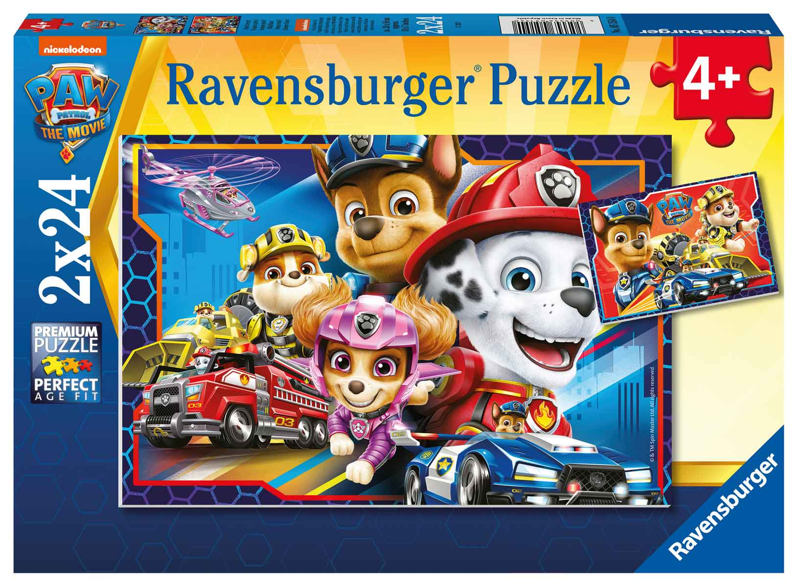 Puzzle Ravensburger Patrulla Canina de 2x24 Piezas
