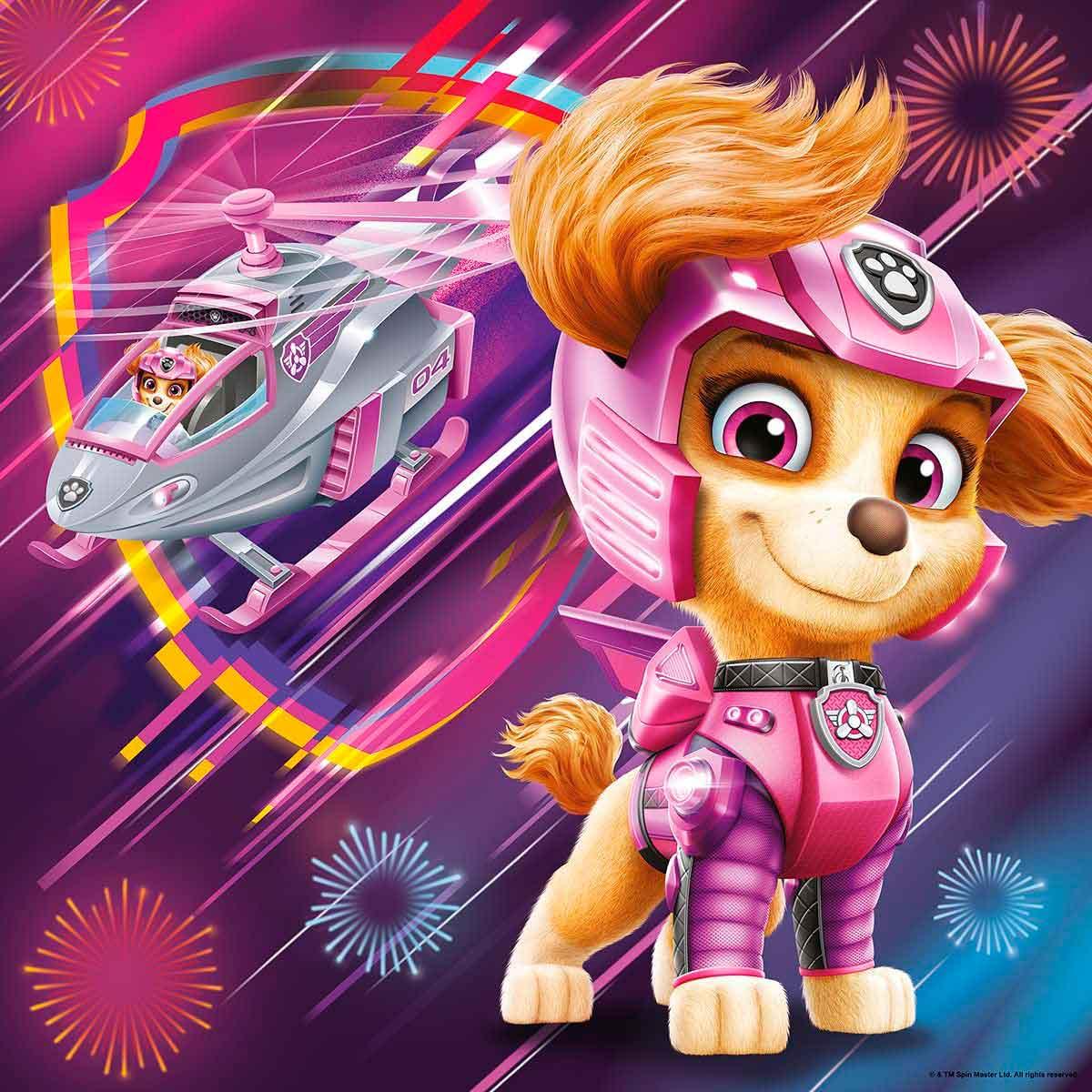 Puzzle Ravensburger Patrulla Canina La Pelicula de 3x49 P