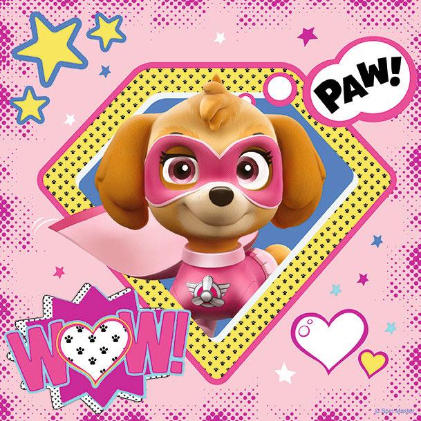Puzzle Ravensburger Patrulla Canina SuperPup Heroes 3x49 Pzs