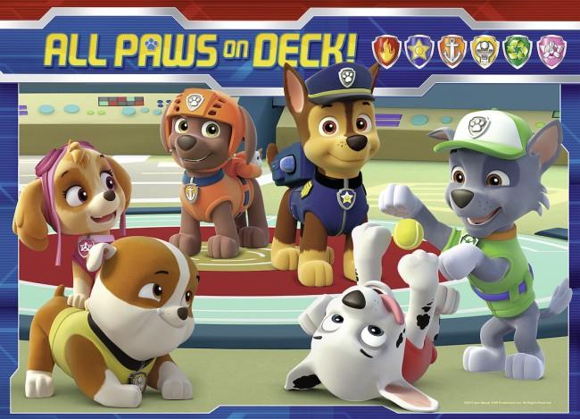 Puzzle Ravensburger Patrulla Canina Todos a Una 4 x 42 Piezas