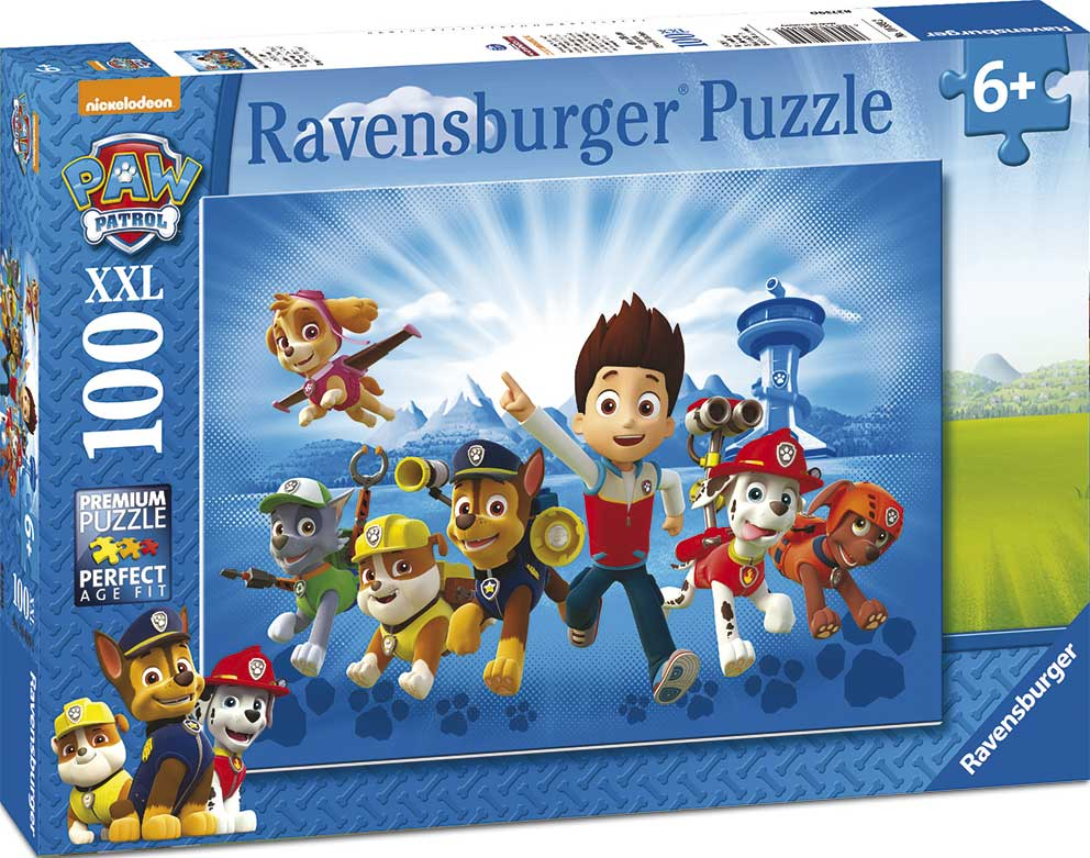 Puzzle Ravensburger Patrulla Canina XXL de 100 Piezas