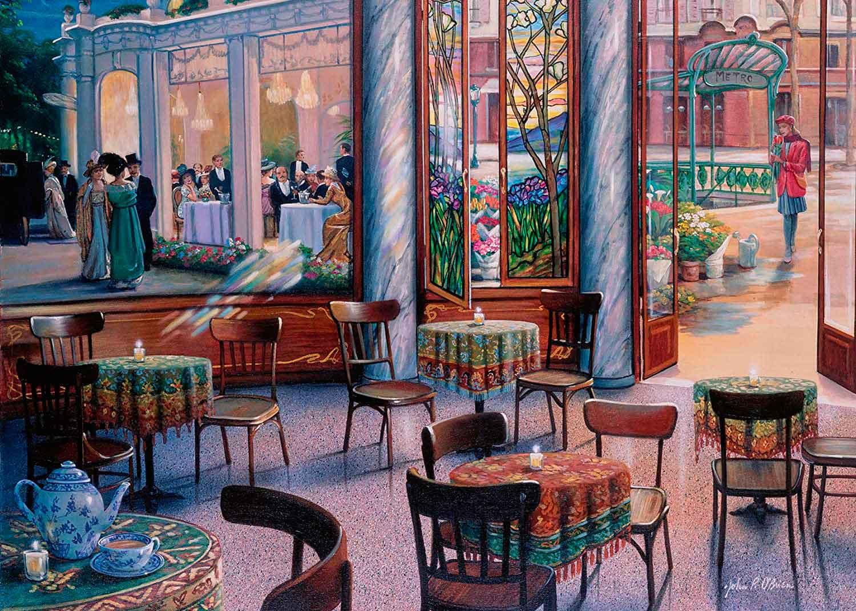 Puzzle Ravensburger Pausa Para el Café 1000 Piezas