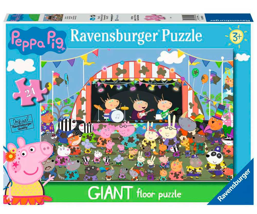 Puzzle Ravensburger Peppa Pig Celebración Familiar de 24 Pzs
