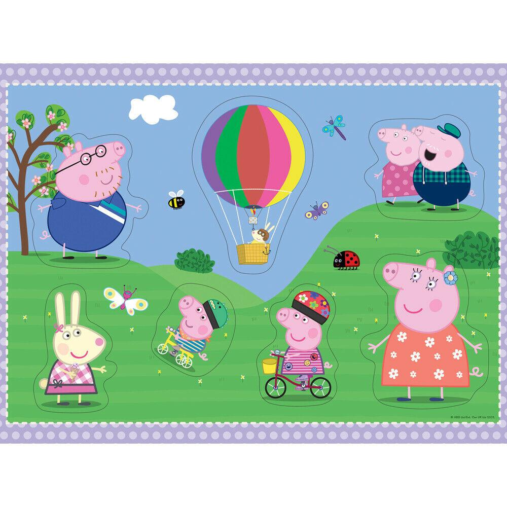 Puzzle Ravensburger Peppa Pig de Suelo de 24 Piezas