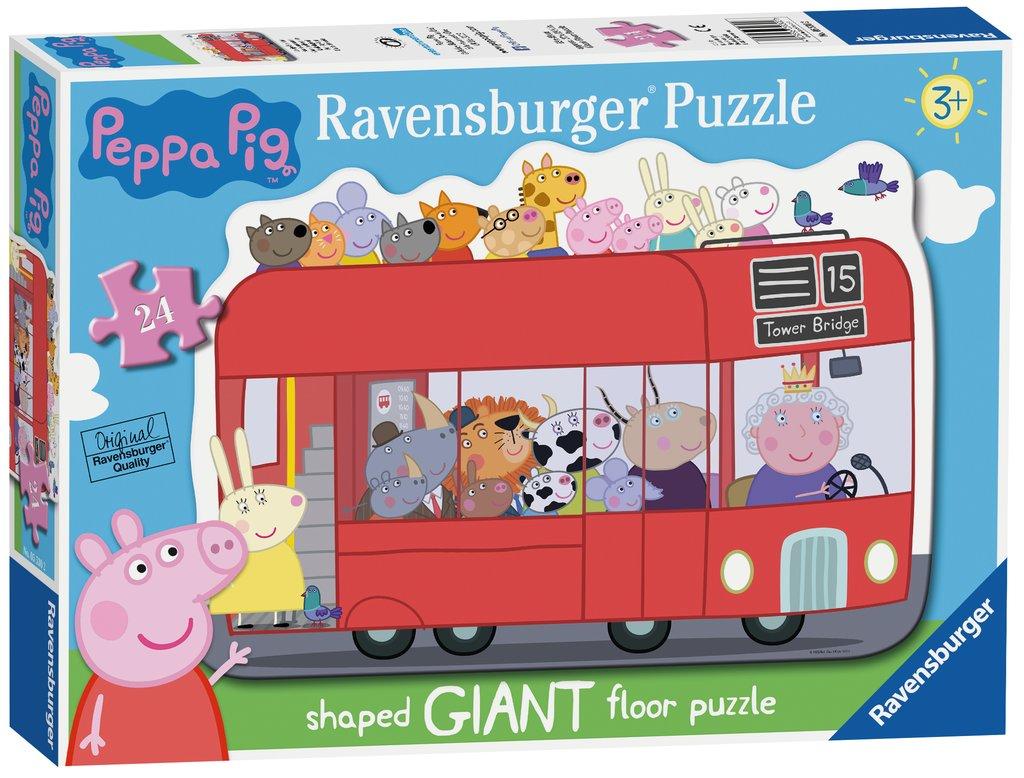 Puzzle Ravensburger Peppa Pig Día de Diversión de 24 Piezas
