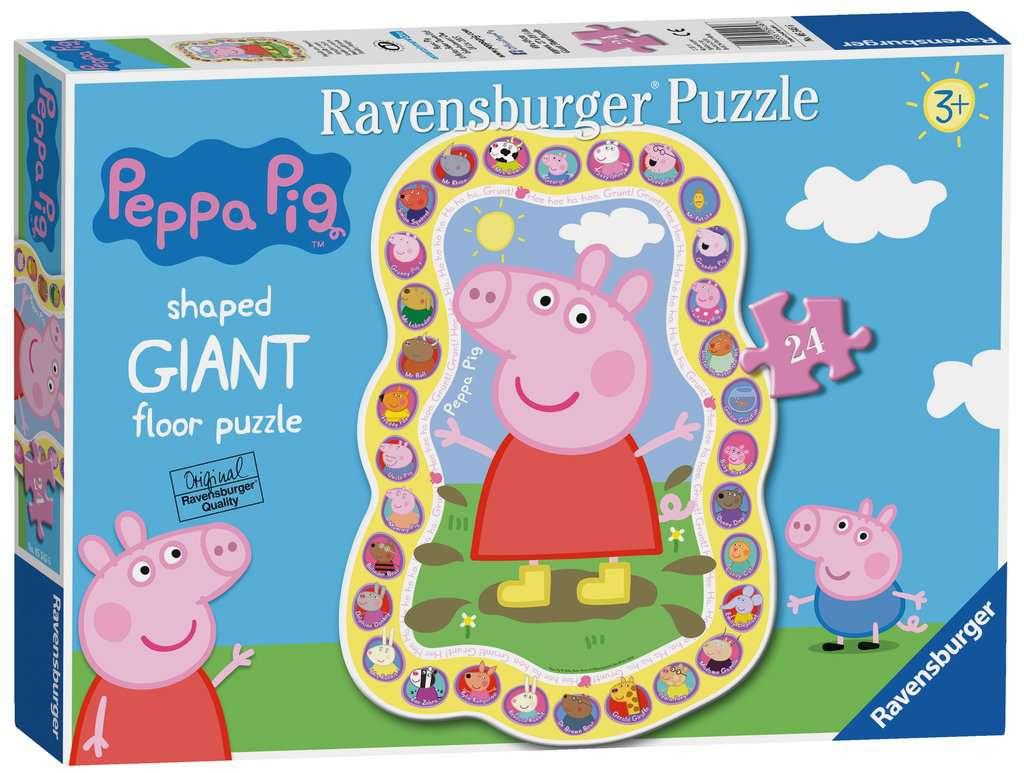 Puzzle Ravensburger Peppa Pig Familia y Amigos de 24 Piezas