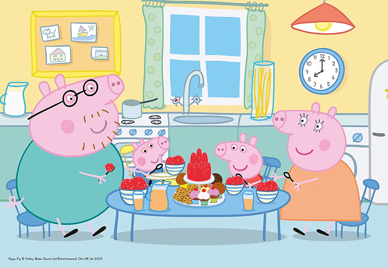 Puzzle Ravensburger Peppa Pig La Comida de 35 Piezas