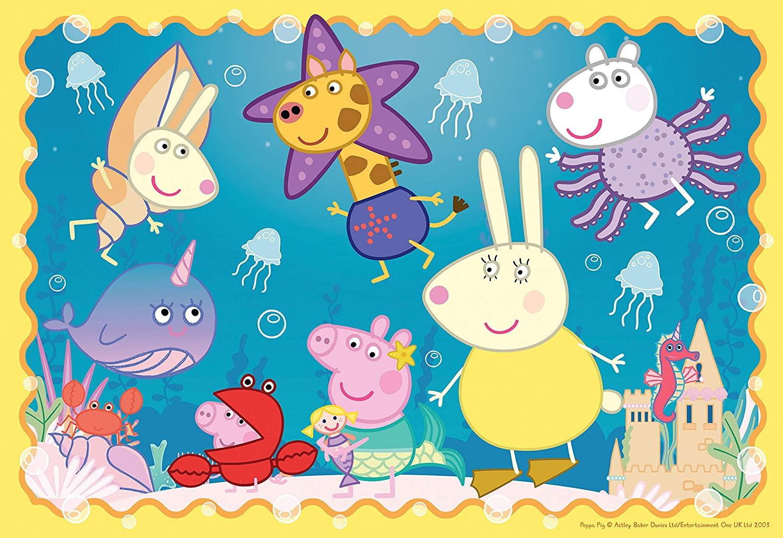 Puzzle Ravensburger Peppa Pig Mundo Submarino de 35 Piezas