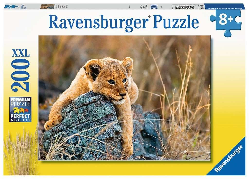 Puzzle Ravensburger Pequeño León XXL de 200 Piezas