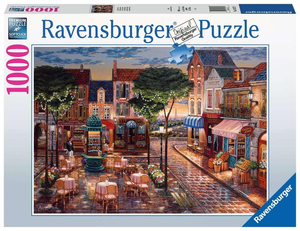 Puzzle Ravensburger Pinceladas de París de 1000 Piezas