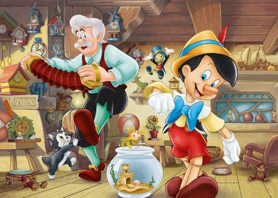 Puzzle Ravensburger Pinocho de 1000 Piezas