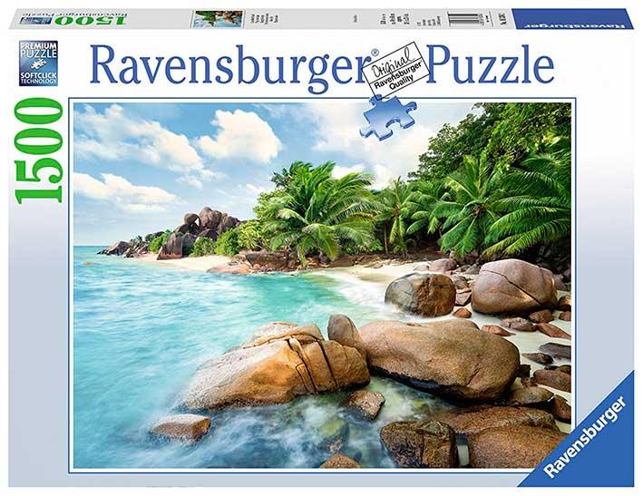 Puzzle Ravensburger Playa de la Bahía de 1500 Piezas