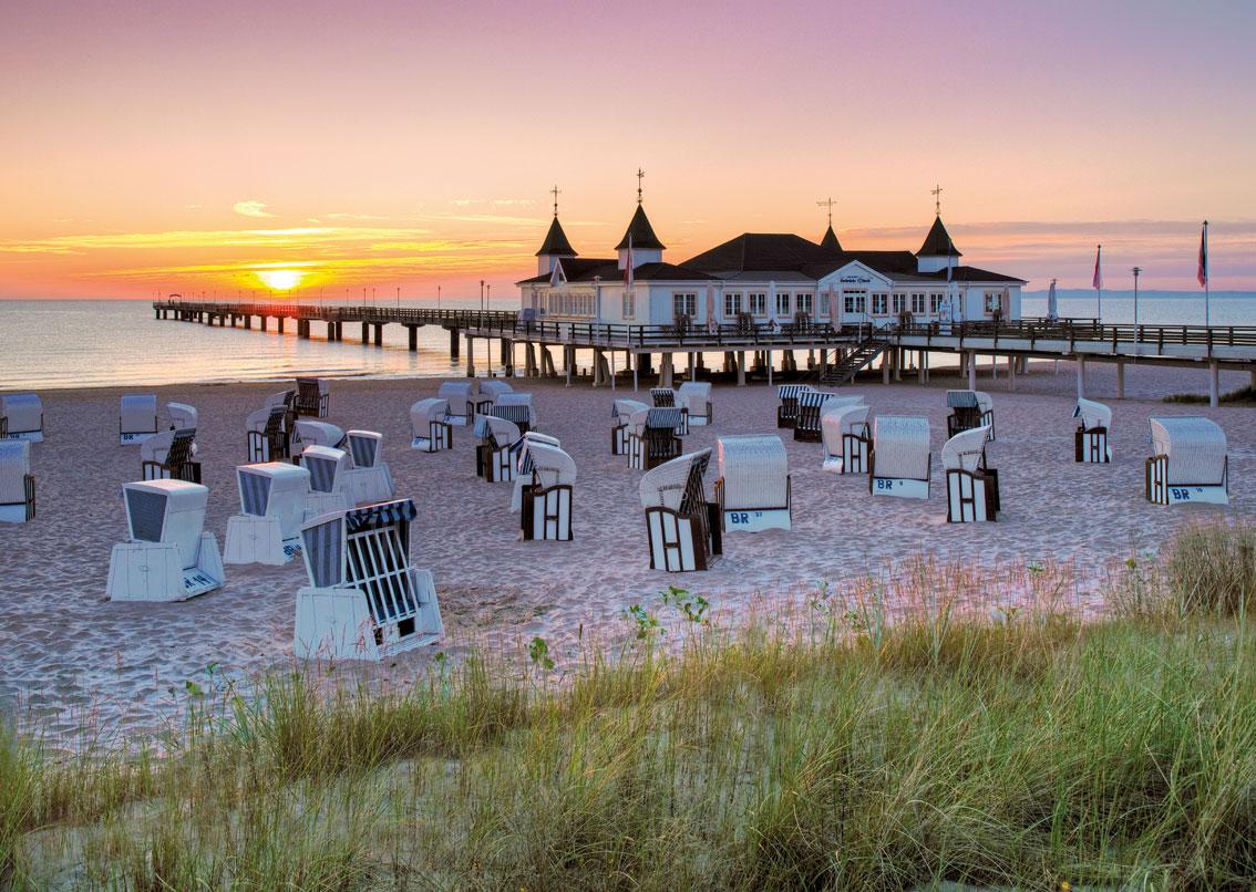 Puzzle Ravensburger Playa del Mar Báltico de 1000 Piezas