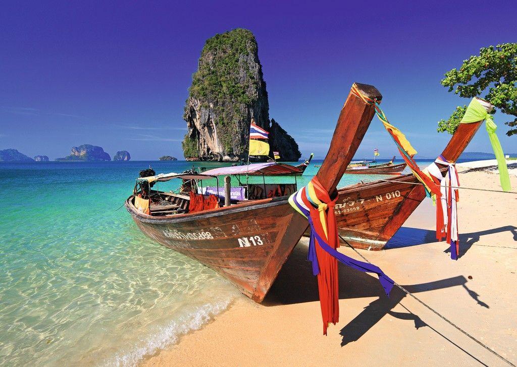 Puzzle Ravensburger Playa Phra Nang, Krabi Tailandia de 1000 Pie