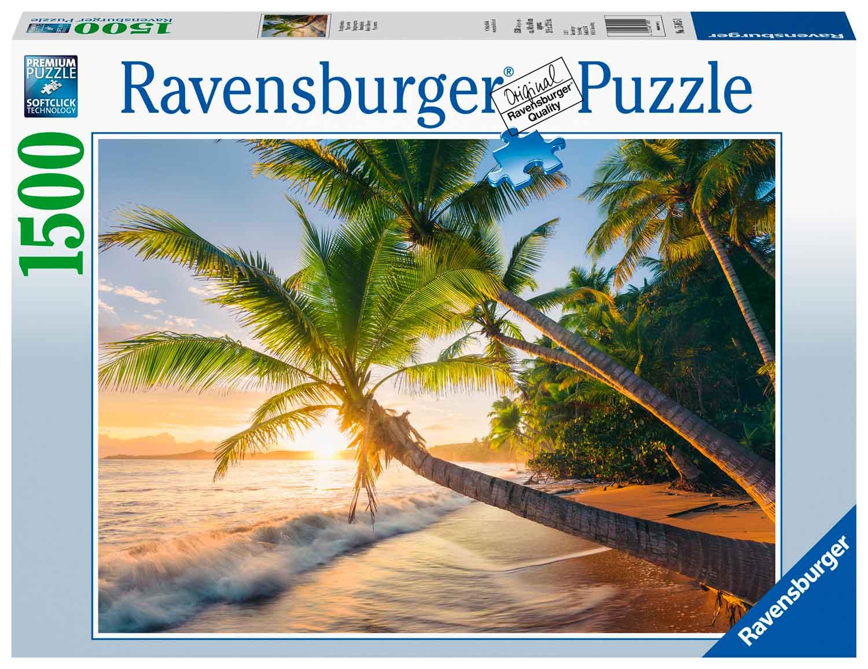 Puzzle Ravensburger Playa Secreta de 1500 Piezas