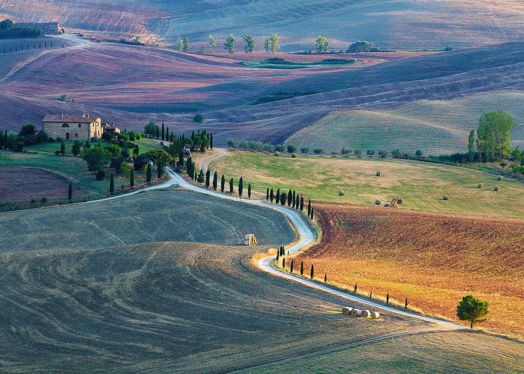 Puzzle Ravensburger Podere Terrapille, La Toscana de 1000 Piezas