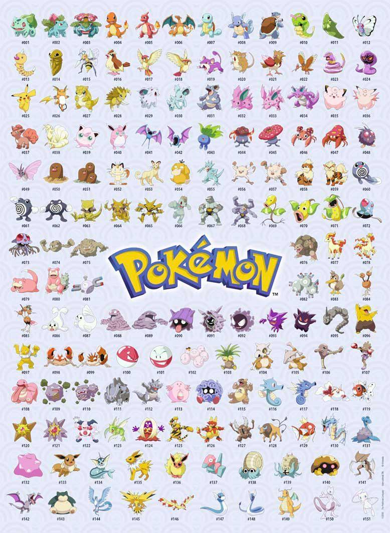 Puzzle Ravensburger Pokemon 500 Piezas